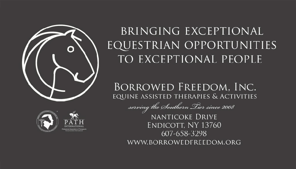 Borrowed Freedom Equine Assisted Therapies and Activities, Inc.