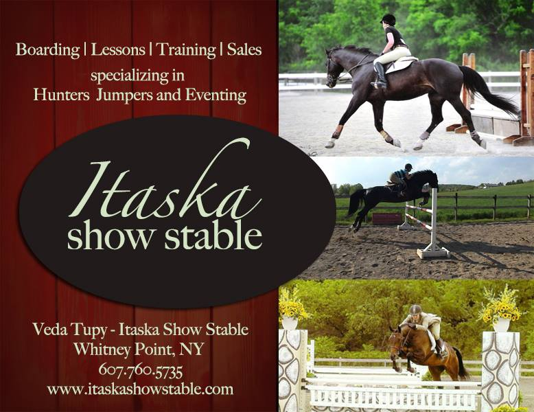 Itaska Show Stable Business Card2